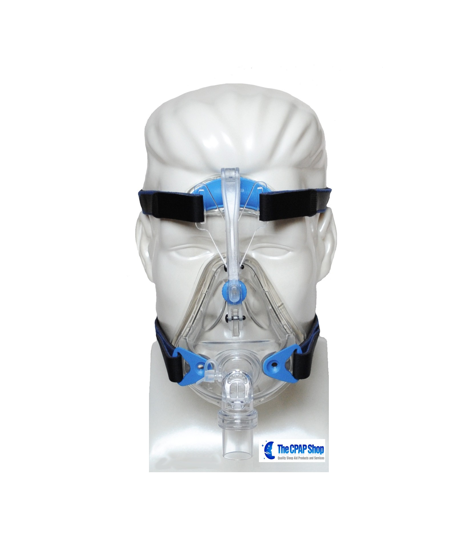 SleepNet Mojo Gel Cushion Full Face CPAP Mask with Headgear #6A6561
